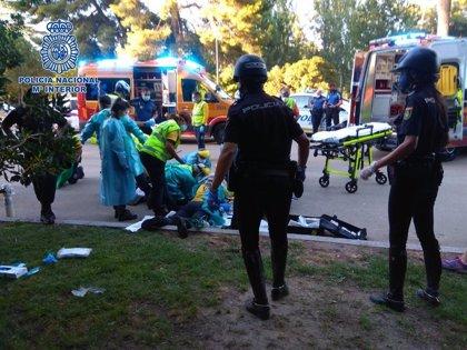 Agentes de Policía Nacional y una enfermera logran reanimar a un hombre que entró en parada en el Retiro