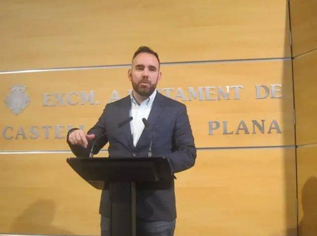 Rafa Simó, concejal del ayuntamiento de Castellón propuesto para presidir el la Autoridad Portuaria de Castellón
