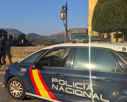 Detenido tras agredir a un vecino de Ronda (Málaga) a quien trató de robar