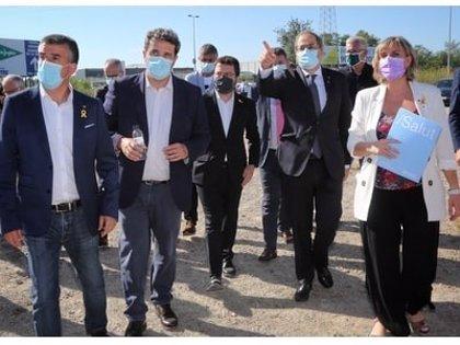 """Torra sostiene que el nuevo Hospital Trueta (Girona) responde a un """"consenso de país"""""""