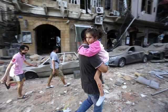 AMP.- Líbano.- ONG alertan sobre el impacto de las explosiones de Beirut en los