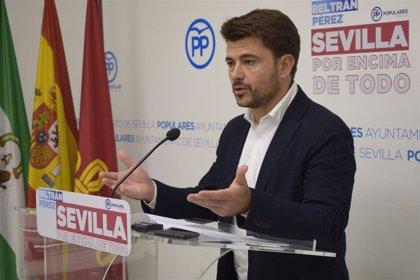 """El PP tilda de """"indignante"""" la actitud de Espadas por """"ceder al chantaje del Gobierno"""" con los remanentes de ahorros"""