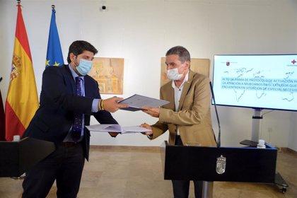 El Gobierno regional y Cruz Roja colaboran para asistir a murcianos en el exterior con situación de especial necesidad