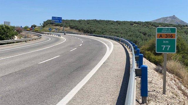 Autovía del Olivar.