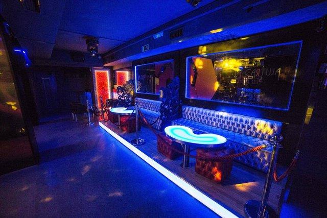 Interior de la discoteca La Cartuja (Calle de la Cruz, 10), en Madrid (España), a 3 de julio de 2020.