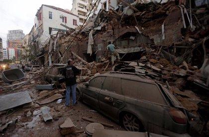AMP3.- Líbano.- Ascienden a 135 los muertos y a más de 5.000 los heridos por las explosiones en el puerto de Beirut