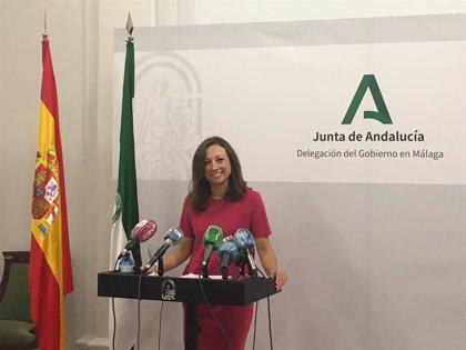 """Navarro destaca el """"apoyo inédito"""" que está recibiendo la provincia de Málaga por parte de la Junta"""