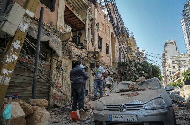 Aftermath of massive explosion in Beirut