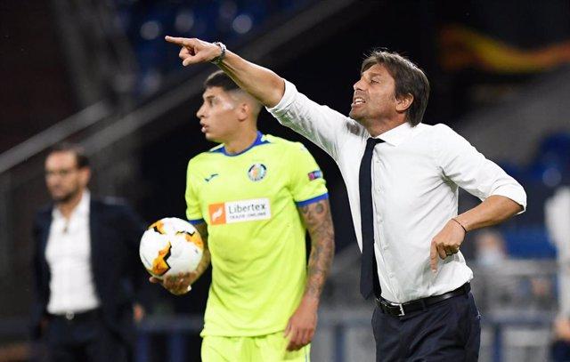 "Fútbol/Liga Europa.- Antonio Conte: ""Todo el mundo parece involucrado, esperábam"
