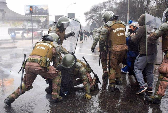 """Chile.- La ONU denuncia enfrentamientos y otros """"eventos violentos"""" entre el pue"""