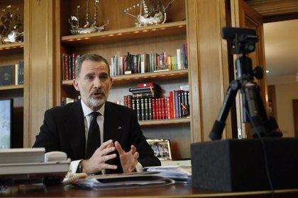 Felipe VI retoma su agenda en Zarzuela tras el anuncio de la marcha de Juan Carlos I