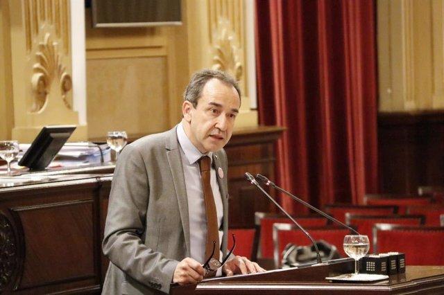El diputado de Cs en el Parlament balear Juan Manuel Gómez.