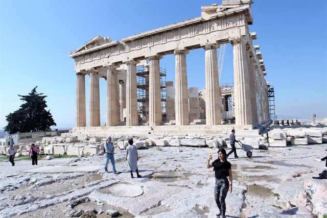 Imagen de archivo de la Acrópolis de Atenas.