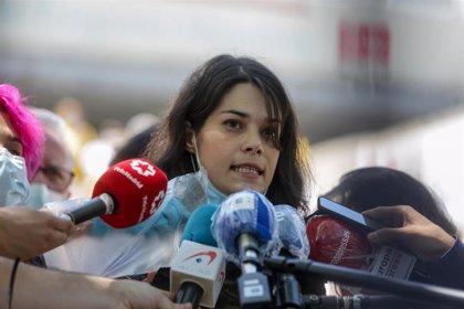 """Isa Serra recurre ante el Supremo la sentencia """"injusta"""" del TSJM por los altercados durante un desahucio en 2014"""