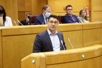 El senador Fabián Chinea pide al Gobierno central implicación en la gestión de los movimientos migratorios en Canarias