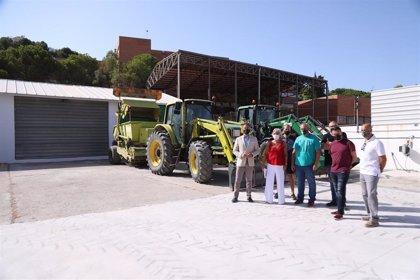 Ayuntamiento de Málaga potencia la limpieza en Distrito Este con la puesta en marcha de nuevas instalaciones de Limasam