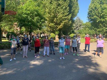 Unas 200 personas participan en julio en las actividades deportivas y de ocio para mayores de 60 años