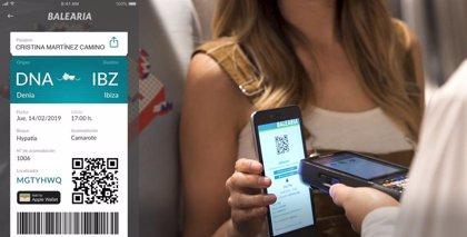 Baleària enviará la tarjeta de embarque mediante WhatsApp