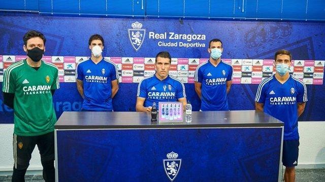 """Fútbol.- La plantilla del Zaragoza está """"harta"""" y """"de acuerdo"""" en que se dé por"""