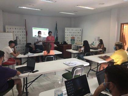 Diputación impulsa el emprendimiento en Líjar con 'Almería, empleo joven contra la despoblación'