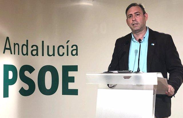 El coordinador de los diputados socialistas andaluces en el Congreso y miembro de la Ejecutiva Federal del PSOE, José Antonio Rodríguez Salas