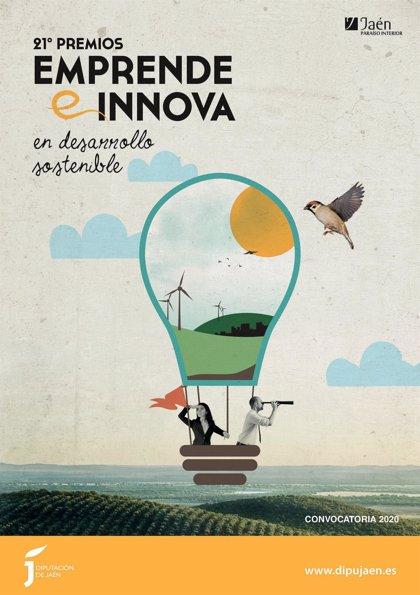 El 30 de septiembre finaliza el plazo para optar al XXI Premio Emprende e Innova de la Diputación