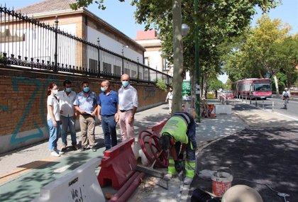 El Ayuntamiento de Sevilla culmina la próxima semana la primera fase de reordenación de la Ronda Histórica en Resolana