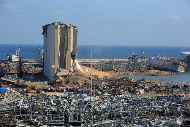 Líbano.- Llega a Líbano un avión de la ONU con 20 toneladas de material sanitari