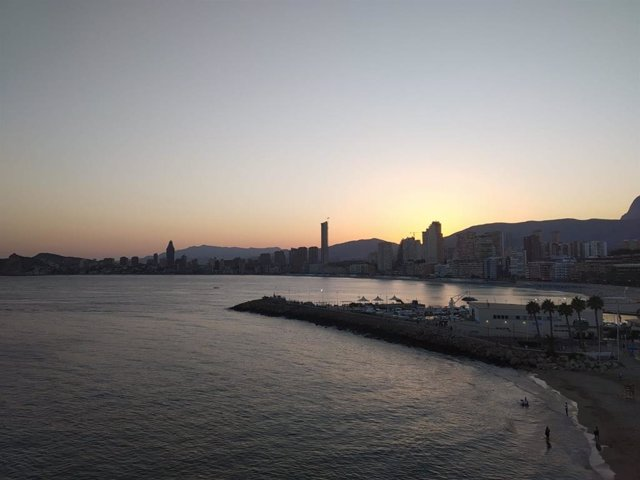 Imagen de archivo del skyline de Benidorm