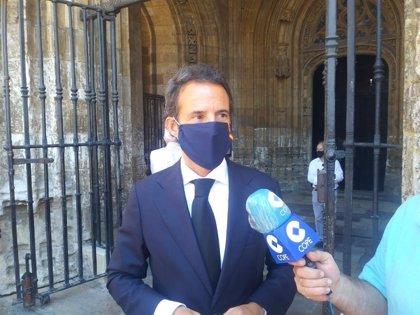 """Cuesta (Cs) considera """"precipitado e injusto"""" que Gijón retire el nombre del rey emérito del callejero"""