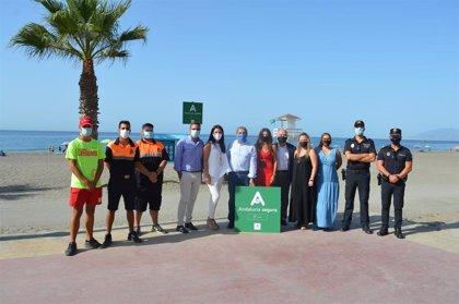 Rincón de la Victoria se suma a las playas malagueñas con el sello 'Andalucía segura'