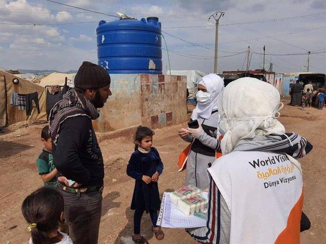 """Coronavirus.- World Vision avisa de que Siria está """"al borde de un nuevo desastr"""