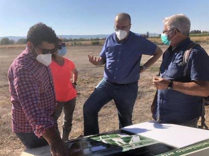 La Diputación de Teruel seguirá impulsa la excavación y conservación del yacimiento de La Caridad, en Caminreal
