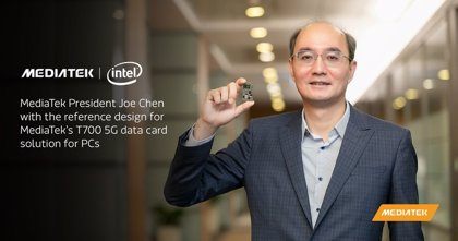 MediaTek anuncia sus primeros modems para ordenadores portátiles con 5G