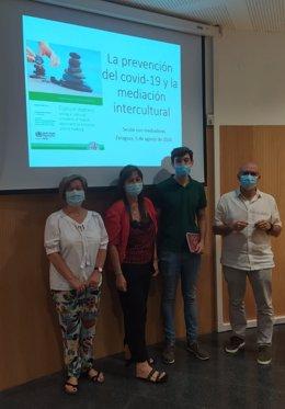 El Gobierno de Aragón inicia un servicio de mediación intercultural para positivos en COVID-19.