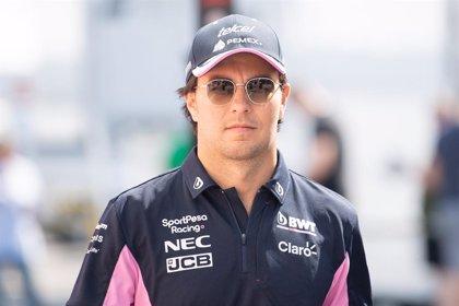 'Checo' Pérez acaba su confinamiento y debe dar negativo para poder correr en Silverstone