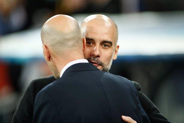 """Fútbol/Champions.- Pep Guardiola: """"Es difícil analizar al Real Madrid de Zidane"""""""