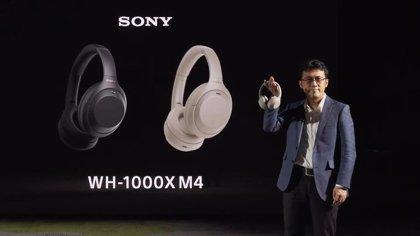 Sony mejora el sistema de cancelación de ruido en sus populares auriculares inalámbricos de diadema WH-1000 XM4