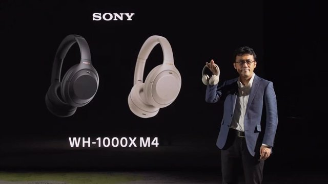 Auriculares Sony WH-1000XM4.