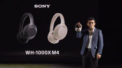 Portaltic.-Sony mejora el sistema de cancelación de ruido en sus populares auriculares inalámbricos de diadema WH-1000 XM4