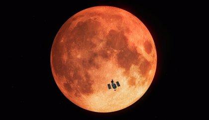 Primera observación de un eclipse lunar total con un telescopio espacial