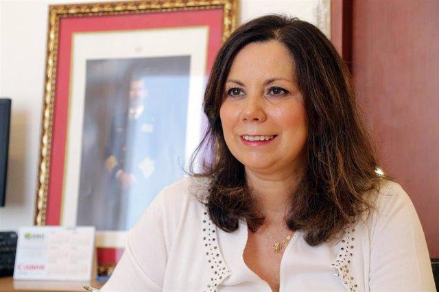 La parlamentaria de Vox, Ángela Mulas