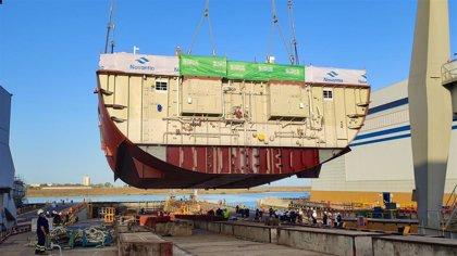 Navantia coloca la quilla de la tercera corbeta para la marina de Arabia Saudí