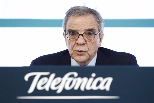 César Alierta, ex presidente de Telefónica.