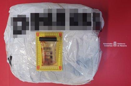 Detenido en Arguedas con 3,6 kilos de anfetamina tras darse a la fuga de un control de seguridad
