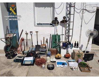 Esclarecidos los numerosos robos en Santa Olalla de Cala (Huelva) que habían generado alarma