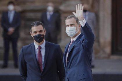 El Rey viaja este fin de semana a Baleares y el miércoles despachará con Pedro Sánchez en Marivent