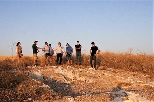 Campaña de excavaciones en Caraca.