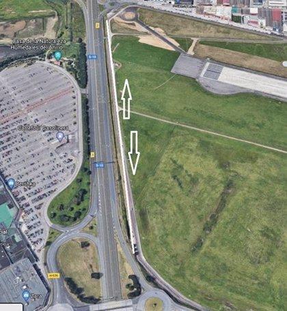 Cantabria conBici pide doble sentido en un tramo del carril del aeropuerto