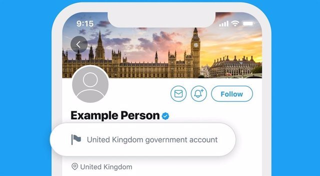 Twitter identificará con etiquetas las cuentas de gobernantes y medios estatales